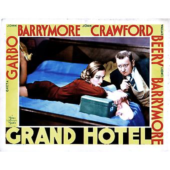 Grand Hotel From Left Joan Crawford Wallace Beery 1932 Movie Poster Masterprint