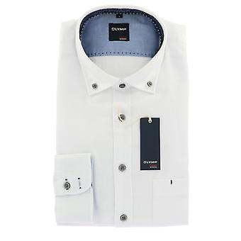 Olympus casual shirt M (39/40) long sleeve white