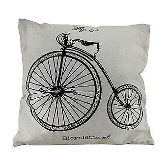 Ruedas alta blanco Vintage Bicyclette velocípedo bicicleta almohadilla de tiro 17 en.
