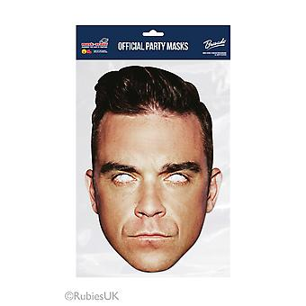 Robbie Williams Official Single 2D Card Party Face Mask