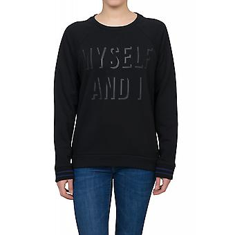 Lee SWS sweater women's statement Black sweatshirt with logo