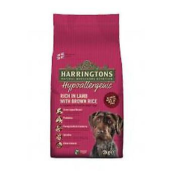 Harringtons komplet hund allergivenlige lam & ris 2kg