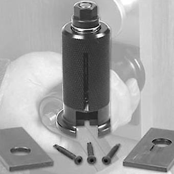 Zieh 修正シリンダーの引き手のシリンダー錠の除去