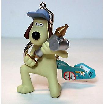 Gromit with Anti-Pesto Gun Keychain from The Curse Of The Were Rabbit