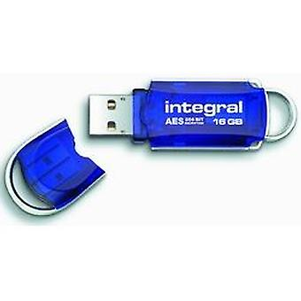 Integral Courier 16Gb Total Lock Flash Drive