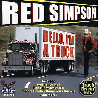 Red Simpson - Hello I'm a Truck [CD] USA import