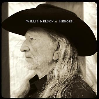 Willie Nelson - hjältar [CD] USA import