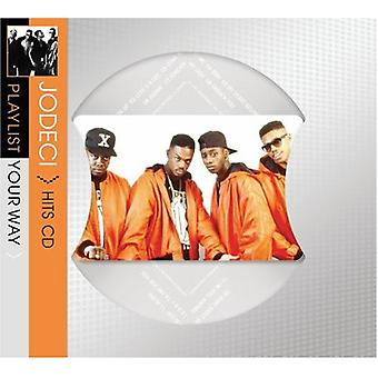 Jodeci - afspilningsliste Your Way [CD] USA import