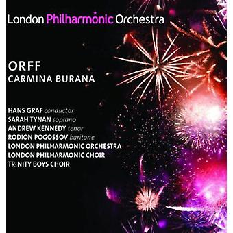 Orff/London Philharmonic Orchestra/Graf - Carmina Burana [CD] USA import