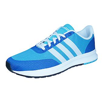 adidas Neo V Racer TM II JQD Mens Running Trainers / Shoes - Blue