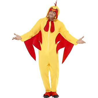 Chicken hens Rooster costume adult