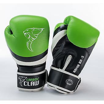 Carbon Claw Carbon Claw Arma Boxing Gloves - Green Black