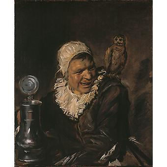 Frans Hals - Malle Babbe Poster Print Giclee