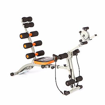 Ultimate AB Warrior Trainer with Core Fitness Levels, Dual Resistance & Fold Away Machine Design As Seen On TV