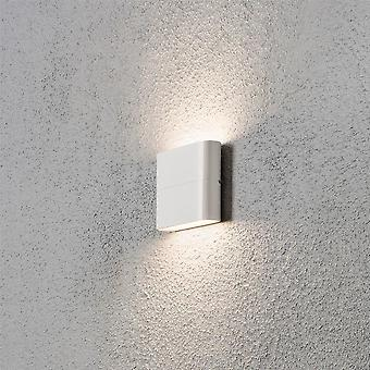 Konstsmide Chieri Wall Washer Garden Wall Light, White