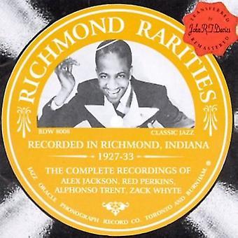 Richmond sjældenheder - Richmond sjældenheder [CD] USA import