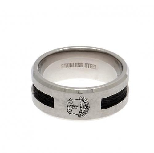 Everton Black Inlay Ring Small