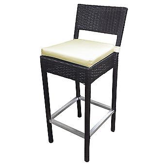 Preston Woven Wicker Outdoor Chair/Bar Stool