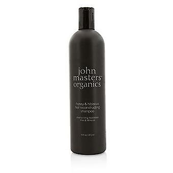 John Masters Organics Honey & Hibiscus Hair Reconstructing Shampoo - 473ml/16oz