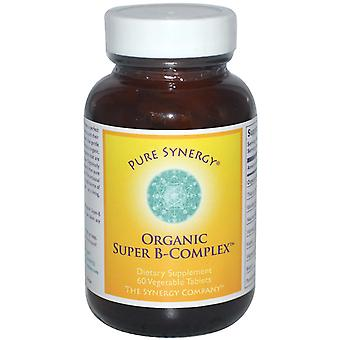 The Synergy Company, Organic Super B-Complex, 60 Veggie Tabs