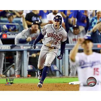 George Springer Home Run Game 2 of the 2017 World Series Photo Print
