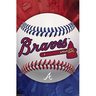 Atlanta Braves - Logo 13 Poster Poster Print