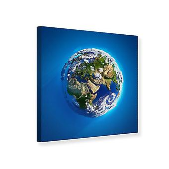 Canvas Print Planet Earth