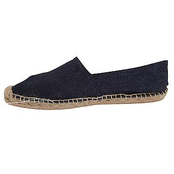 B&C Denim Womens/Ladies Espadrille Shoes