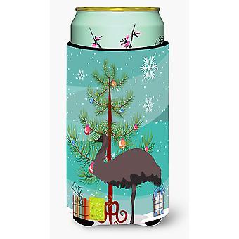 Carolines Treasures  BB9289TBC Emu Christmas Tall Boy Beverage Insulator Hugger