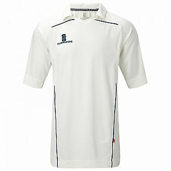 Surridge Mens Century Sports Cricket Shirt