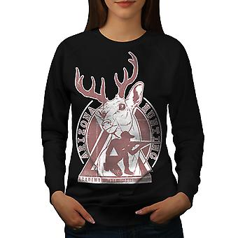Arizona Hunting Women BlackSweatshirt | Wellcoda