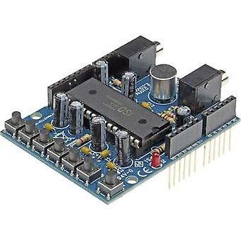 Velleman Shield KA02 Audio Compatible with: Arduino UNO
