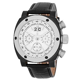 Burgmeister BM348-612 South Bend, Gents watch, Analogue display, Chronograph with Citizen Movement - Water resistant, Stylish leather strap, Classic men's watch