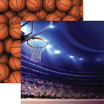 Basketball 2 Double-Sided Cardstock 12