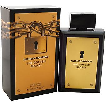The Golden Secret by Antonio Banderas for Men 6.7oz Eau De Toilette Spray