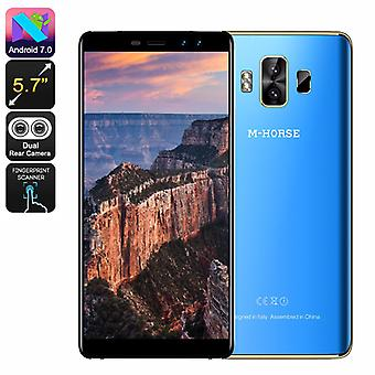 M-Horse Pure 1 Android Phone - 5.7 Inch Display, 3GB RAM, Dual SIM 4G, 4380mAh Battery, Android 7.0