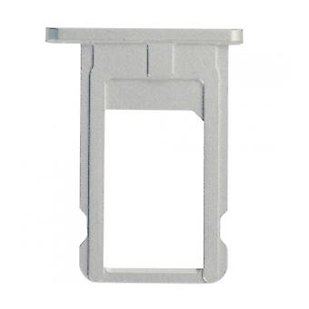 For iPhone 6 SIM Card Tray - White And Silver