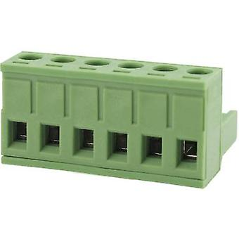 Degson Pin enclosure - cable Total number of pins 6 Contact spacing: 5.08 mm 2EDGK-5.08-06P-14-00AH 1 pc(s)