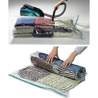 2 Packs of Storage Saving Space Clothes Bags XL - 100 X 130cm -Vacuum Storage Bag