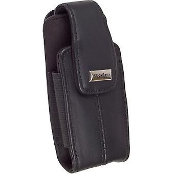 Blackberry Leather Swivel Holster for Blackberry 8100 Series (Dark Brown)