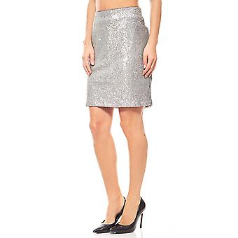 Ashley brooke silver sequin mini skirt party rock