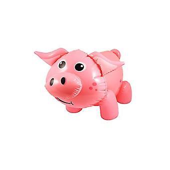 Henbrandt oppustelige lyserød gris