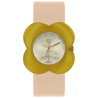 Orla Kiely Womens rose bracelet OK2206 affaire pavot jaune Watch