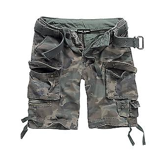 Francis HANNA men's cargo shorts woodland