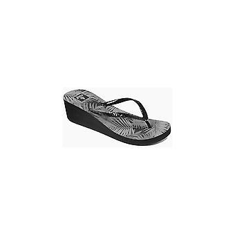 Rif Krystal Star wordt afgedrukt wig sandalen