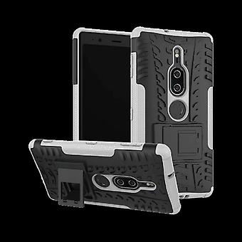 Hybrid case 2 piece SWL robot white for Sony Xperia XZ2 premium pouch sleeve cover protection