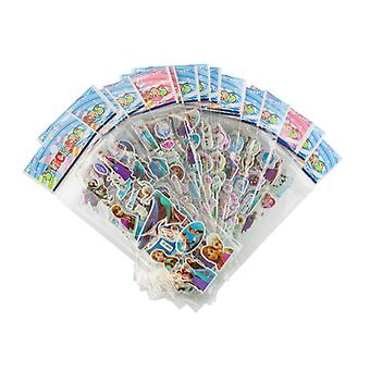 Frozen stickers in 3D-6 Sheets (about 72 PCs)
