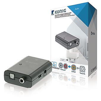 RCA TosLink SPDIF Digital Audio Konverter