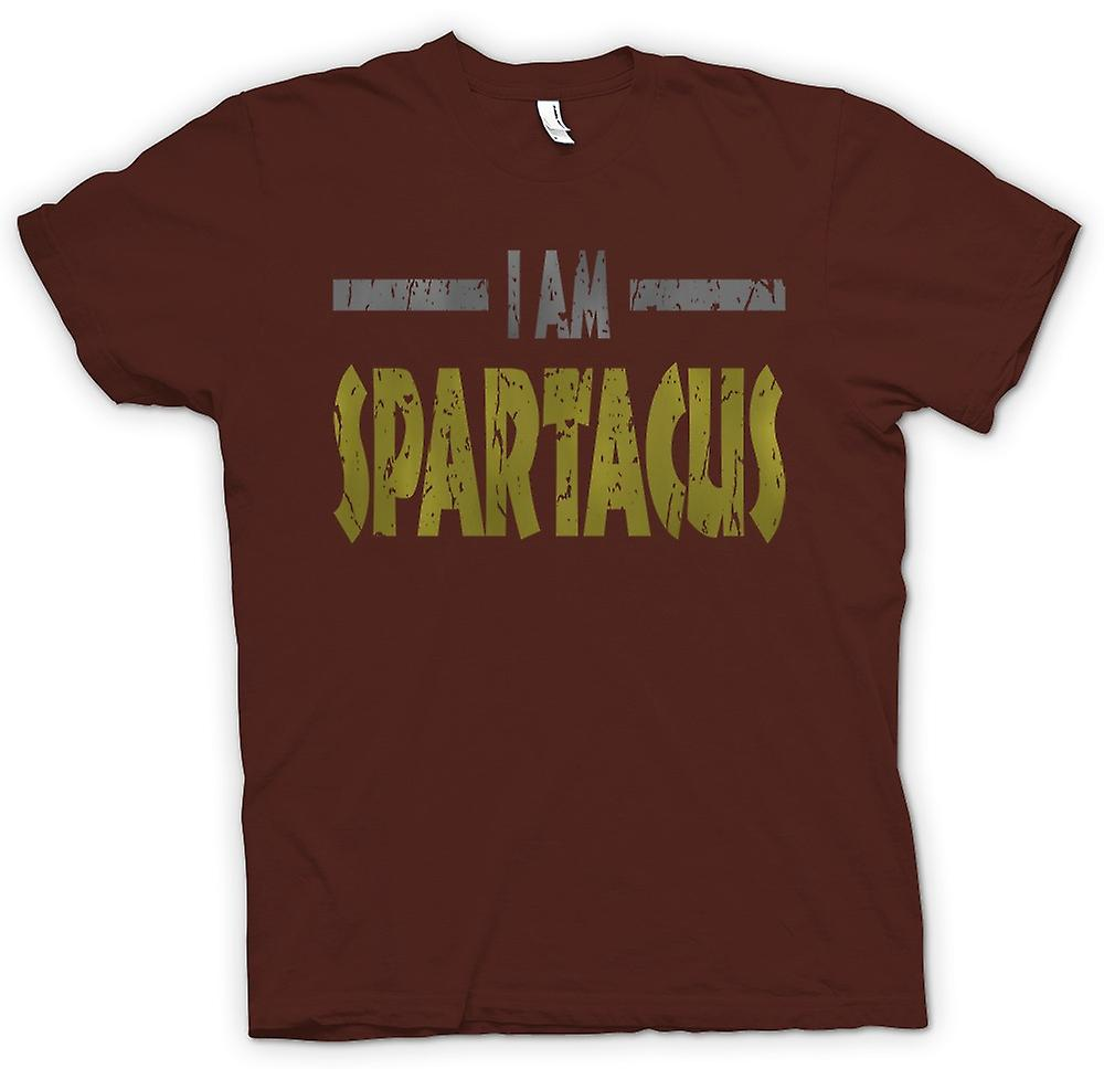 Mens T-shirt - I Am Spartacus - Funny Quote