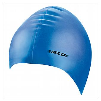 BECO Adult Silicone Swimming Cap- Blue